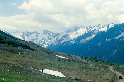Mountain scenery in the Tyrol, Austria.