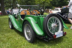 automobile, mg p-type midget, wheel, vehicle, antique car, classic car, vintage car, land vehicle, luxury vehicle,