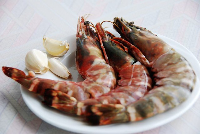 how to cook giant prawns
