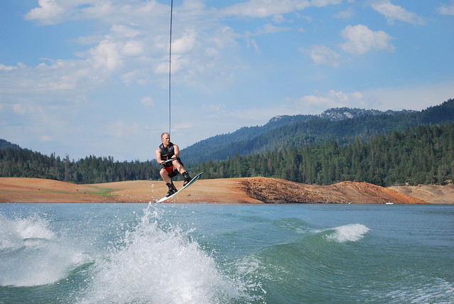 Lake Shasta, California, June 2008, Brian Davis, Wakeboarding.