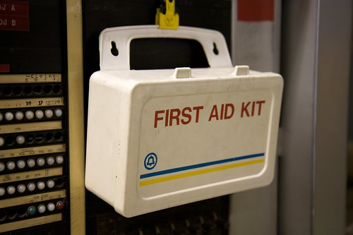 Always take a first aid kit.