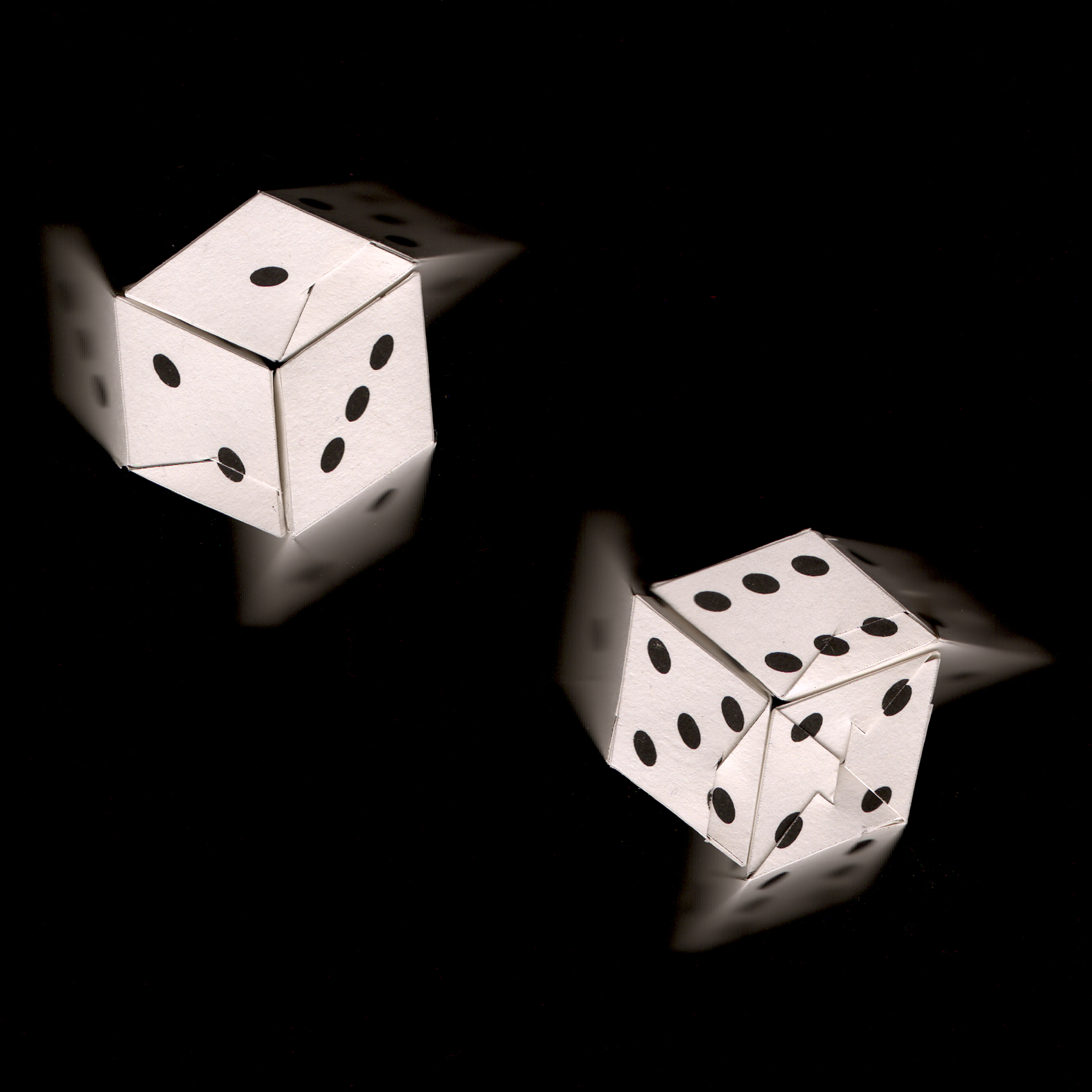 6 dice 2 dice - scanned - paper