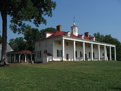 West Face of Mount Vernon Mansion