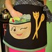 Flirty Salad Apron