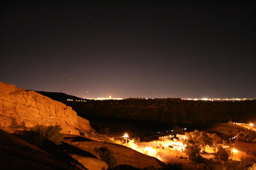 Nighttime Denver