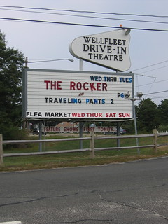 Wellfleet drive in theater | by b.frahm