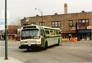 Eddie S Rail Fan Page Cta Route 52a Kedzie Avenue Bus