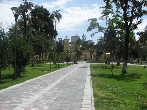 City Park in Quito, Ecuador