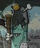 Grafitti on Goulburn Street by RMEIKLEJ