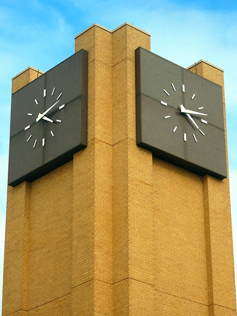 Clock Tower, Tarrant County College, Northeast Campus | Flickr - Photo ...