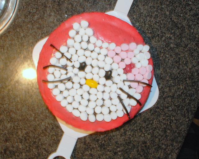 Dekoration aus Marshmallows