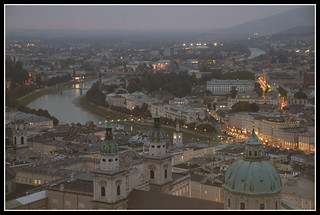 Do-Re-Mi (celebrating my first EXPLORE!!!)... Salzburg - A bird's eye view