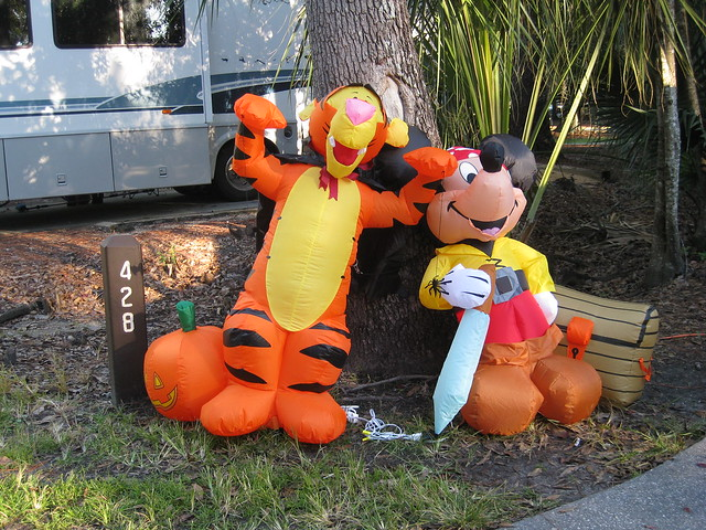 Decorating Ideas > Halloween Decorations At Fort Wilderness Campground  ~ 161501_Halloween Decorating Ideas Campground