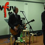 Carbon Silicon in WFUV's Studio A