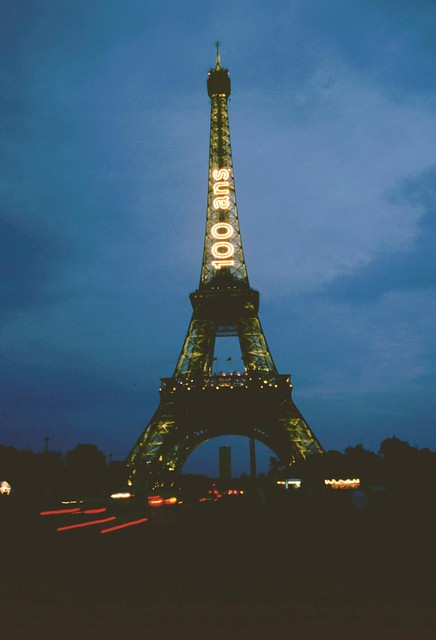 1989 centenaire de la tour eiffel flickr photo sharing - Photo de tour eiffel ...