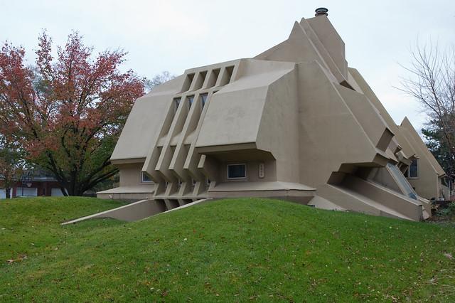 Weird House Bunker Flickr Photo Sharing
