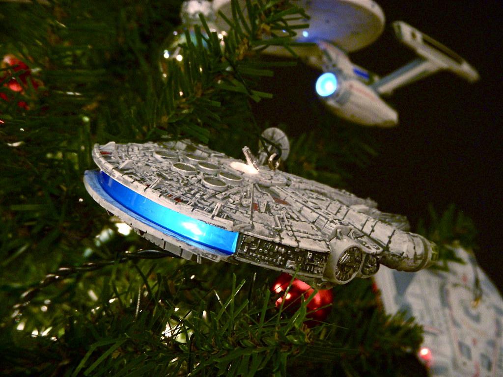 Starship Christmas Tree 11