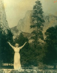 Ruth St. Denis at Yosemite Valley.
