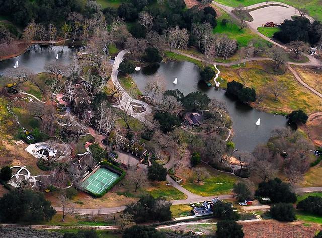 1838 michael jackson neverland mansion amp pond railroad