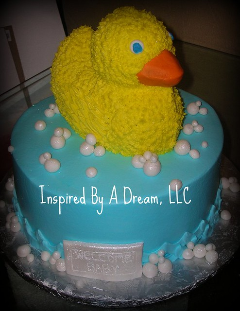 duck baby shower cake flickr photo sharing
