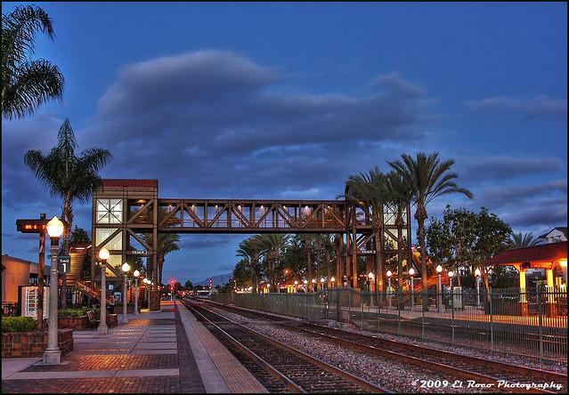 Fullerton Station at Night