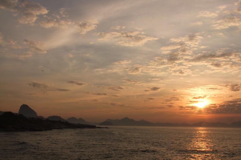 Sunrise at Arpoador - Rio de janeiro
