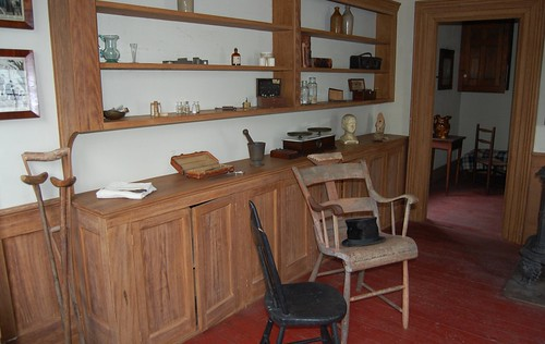 Genesee Country Museum  -   Physician's   Office by dennieorson