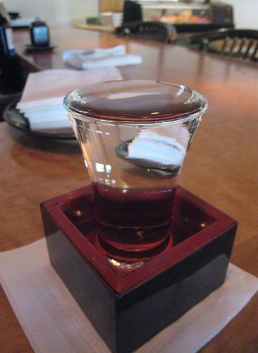 IMG_3002 Sake, a perfect pour