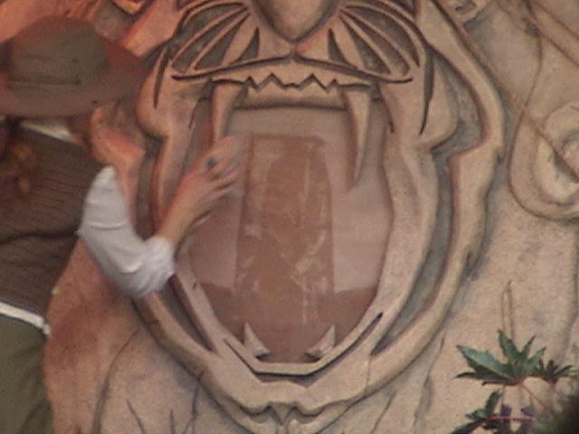 Indiana Jones™ and the Secret of the Stone Tiger Revealed!, Aladdin's Oasis, Adventureland, Disneyland®, Anaheim, California, 2008.05.26 15:23