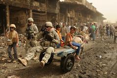 [フリー画像素材] 戦争, 兵士, 風景 - イラク, アメリカ軍 ID:201108261600