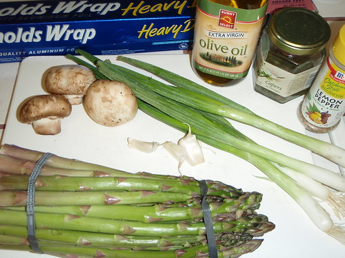 Foil Wrapped Asparagus Ingredients