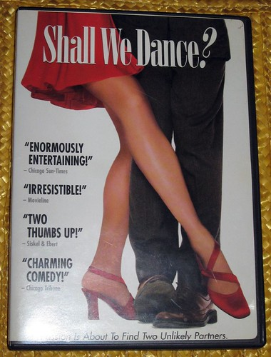 A poster for the Japanese movie, Shall We Dance?