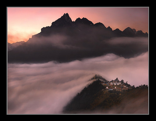 Monastery of the Clouds by Michael Anderson