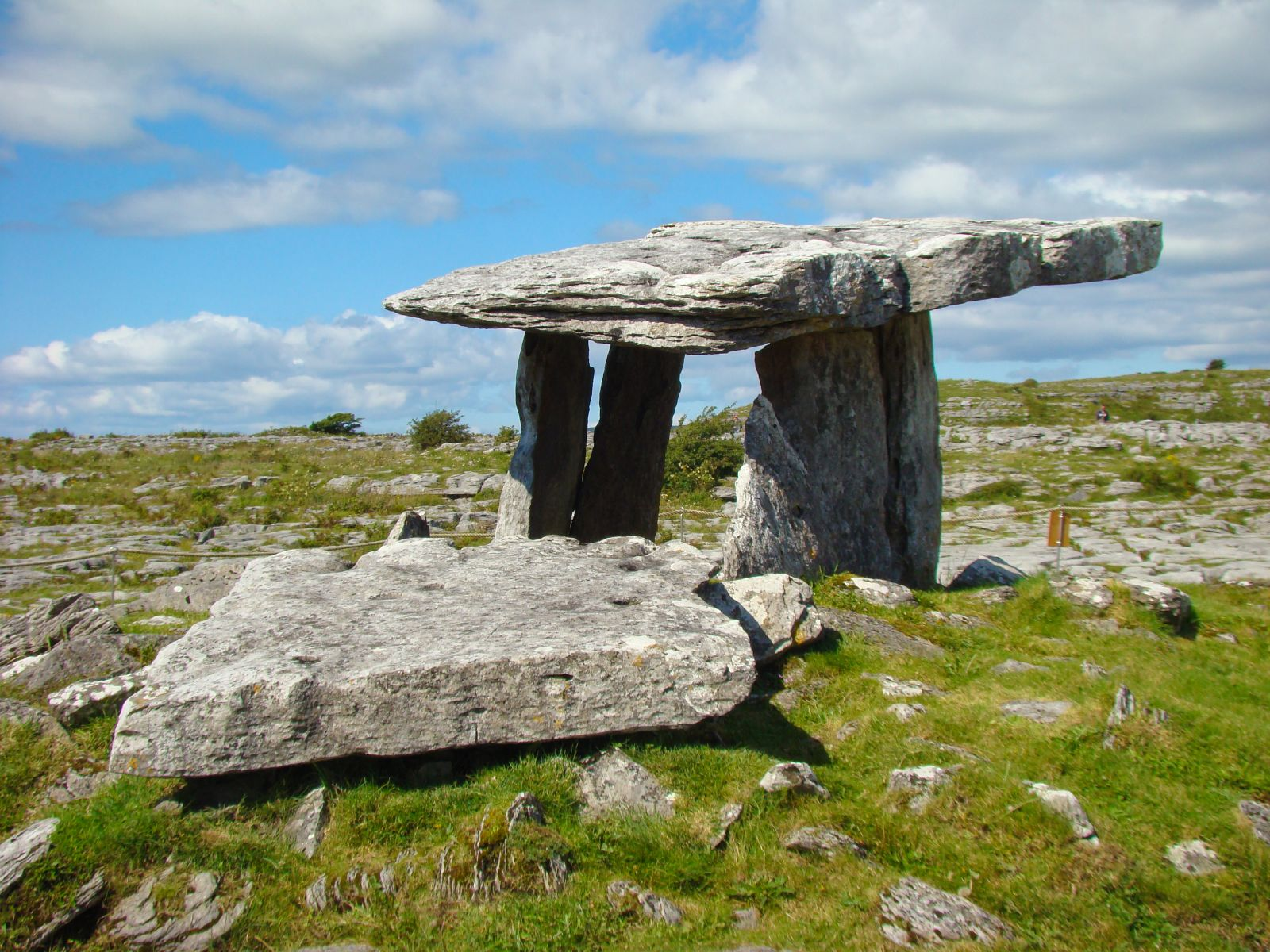 Poulnabrone Dolmen in Burren National Park
