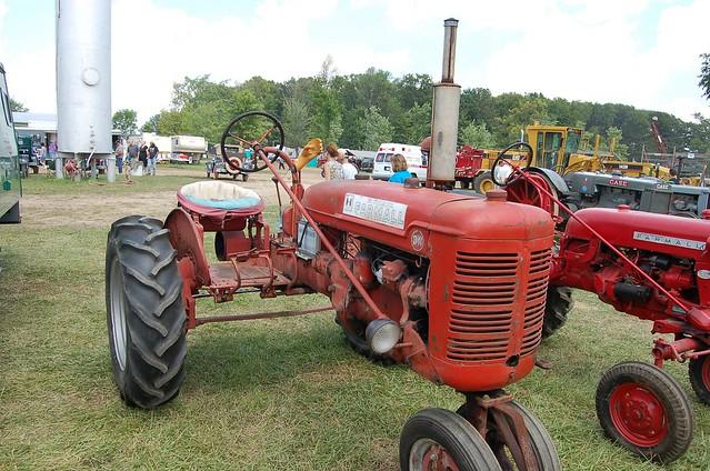 Farmall 130 Tractor : Farmall bn tractor mason steam show n