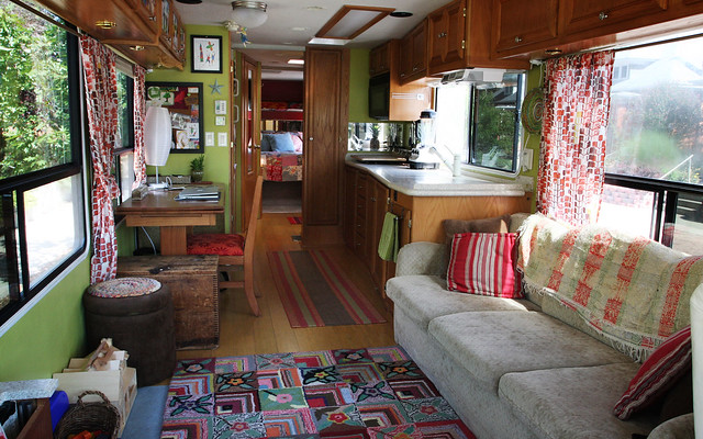 Our New RV: Living Area