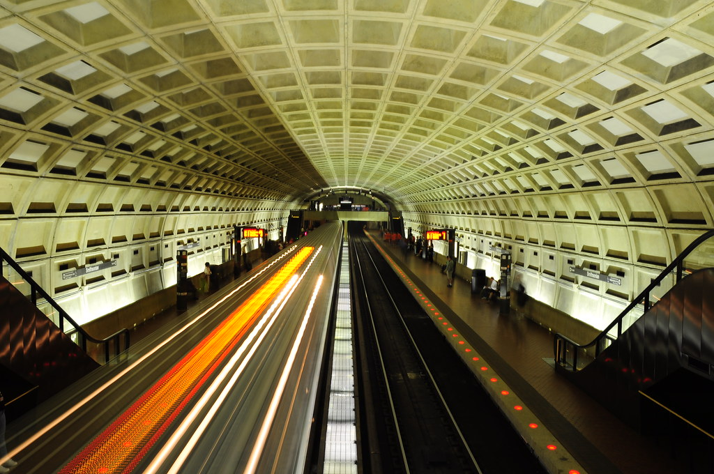 Smithsonian Metro Station
