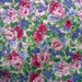 hi-contrast rose print fabric