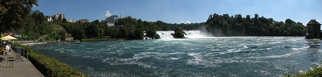 Rhine Falls Panoramic