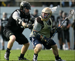 Army Lacrosse Downs Notre Dame