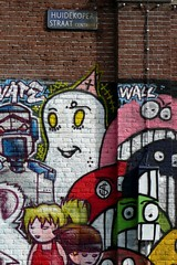 Huidekoperstraat Streetart