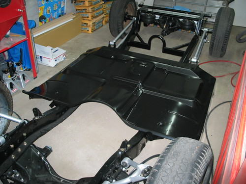 How to one piece floor pan install the 1947 present for 1966 chevy truck floor pans