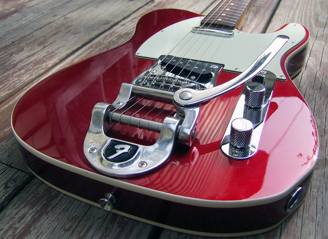 Photo:Fender Telecaster with Bigsby By jboylan67
