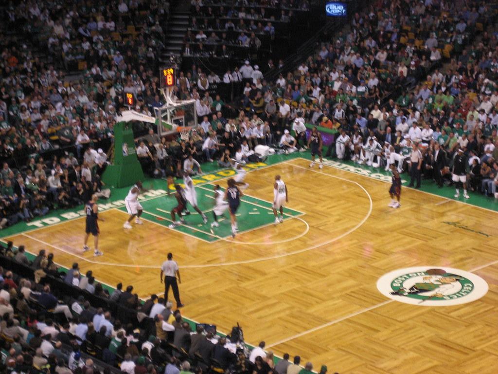 Boston Celtics Raise Banner 17 at Opening Night