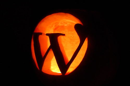 Wordpress citrouille Halloween