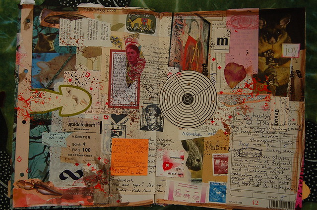 Make this year your Art Journaling Year by Hanna Andersson