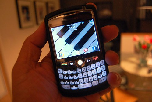 My Blackberry 8320 Curve