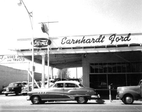 Old Earnhardt Ford Dealership Flickr Photo Sharing