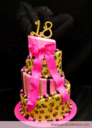 Cake Design 18th Birthday Girl : 18th Birthday Cake Flickr - Photo Sharing!