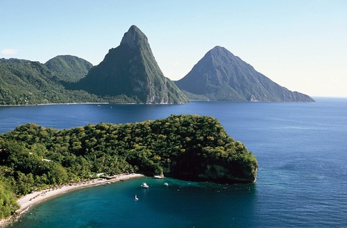 The Gros and Petit Pitons - St. Lucia | by whl.travel